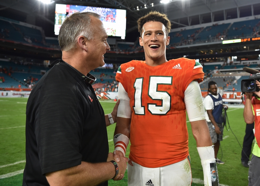 timeless design 5ae3a 7ff63 Miami Hurricanes 2018 Quarterback Offer Breakdown: Dorian ...