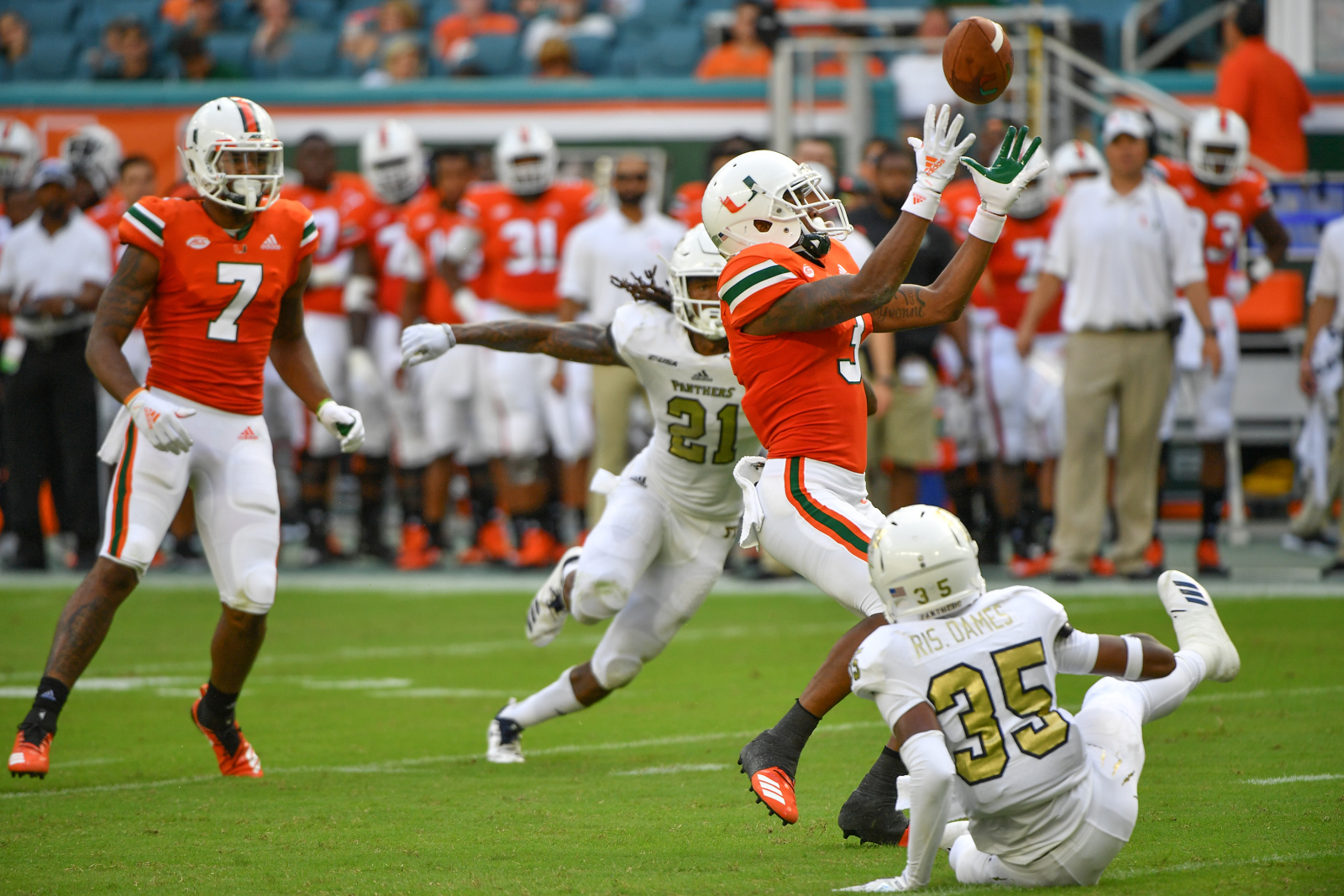 Miami football 2020 projected WR depth chart