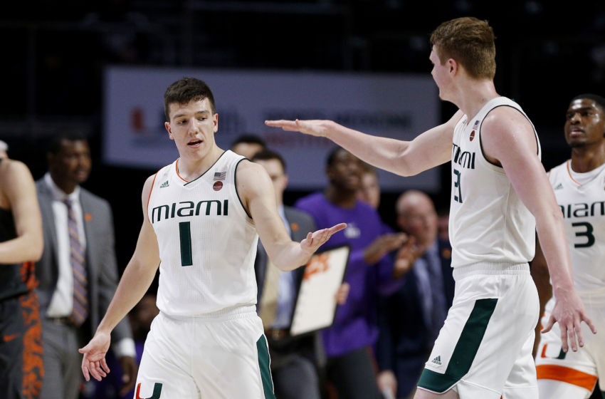 Miami basketball opens ACC Tournament likely without Chris Lykes ...