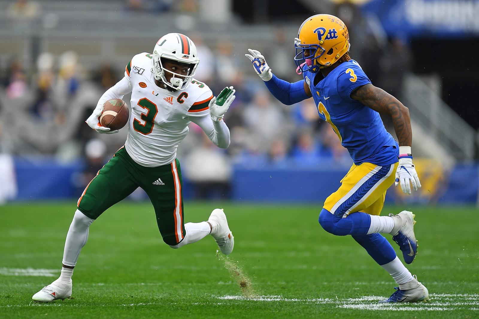 Several 2021 WRs still high on Miami football program