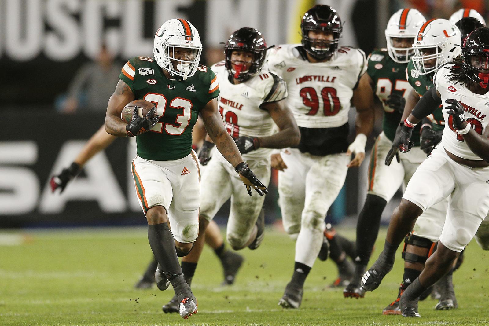Miami Football 2019 Game Versus Louisville Much Closer Than Score