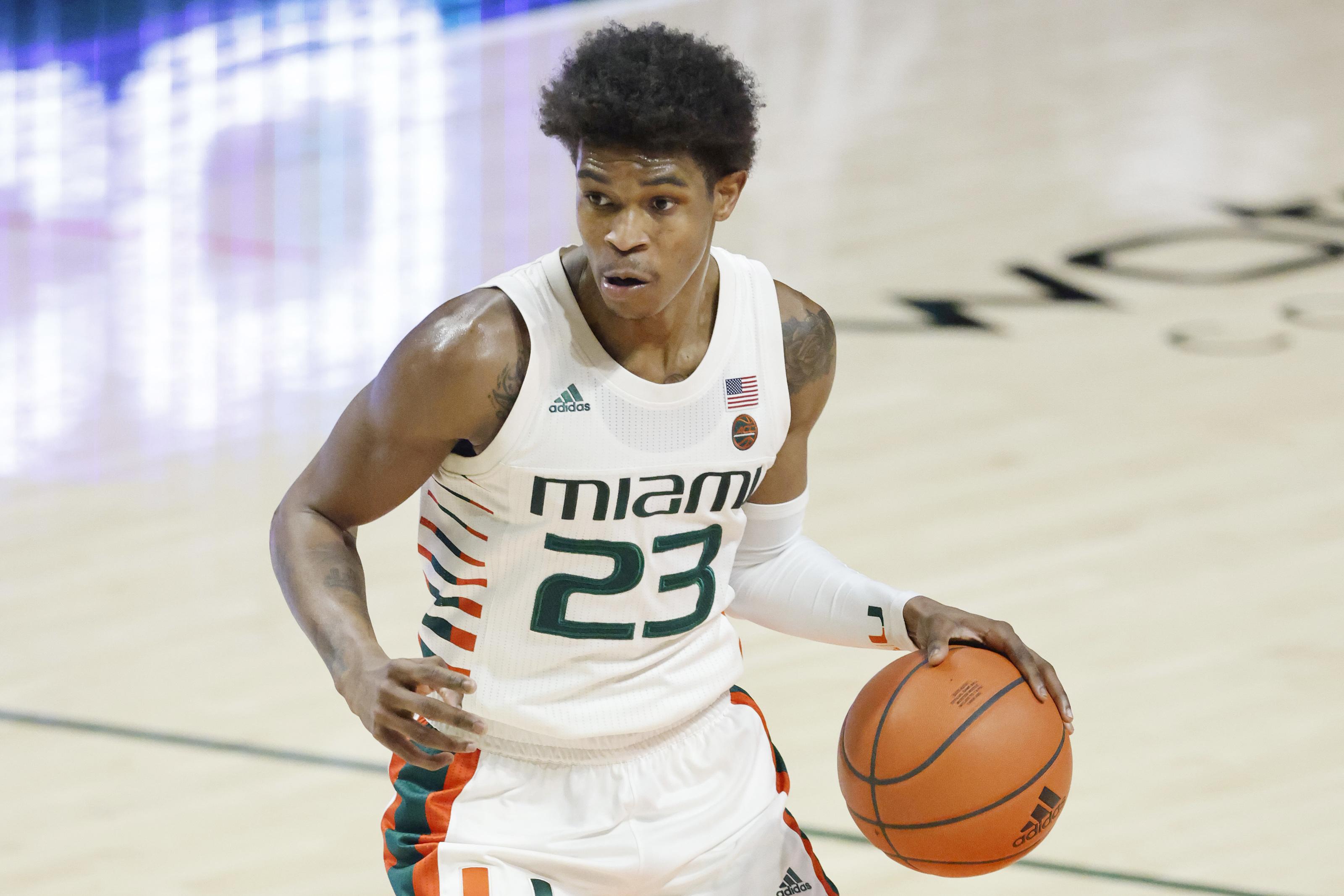 Chris Lykes Miami Hurricanes Basketball Jersey - Orange