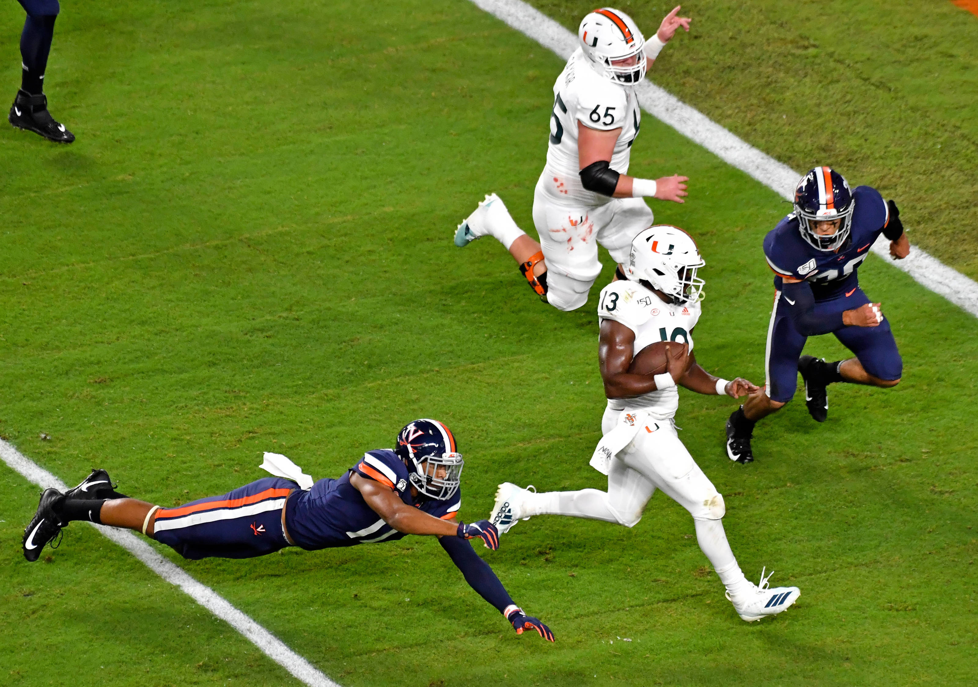 Miami Hurricanes Wrs By Committee On Newest Depth Chart