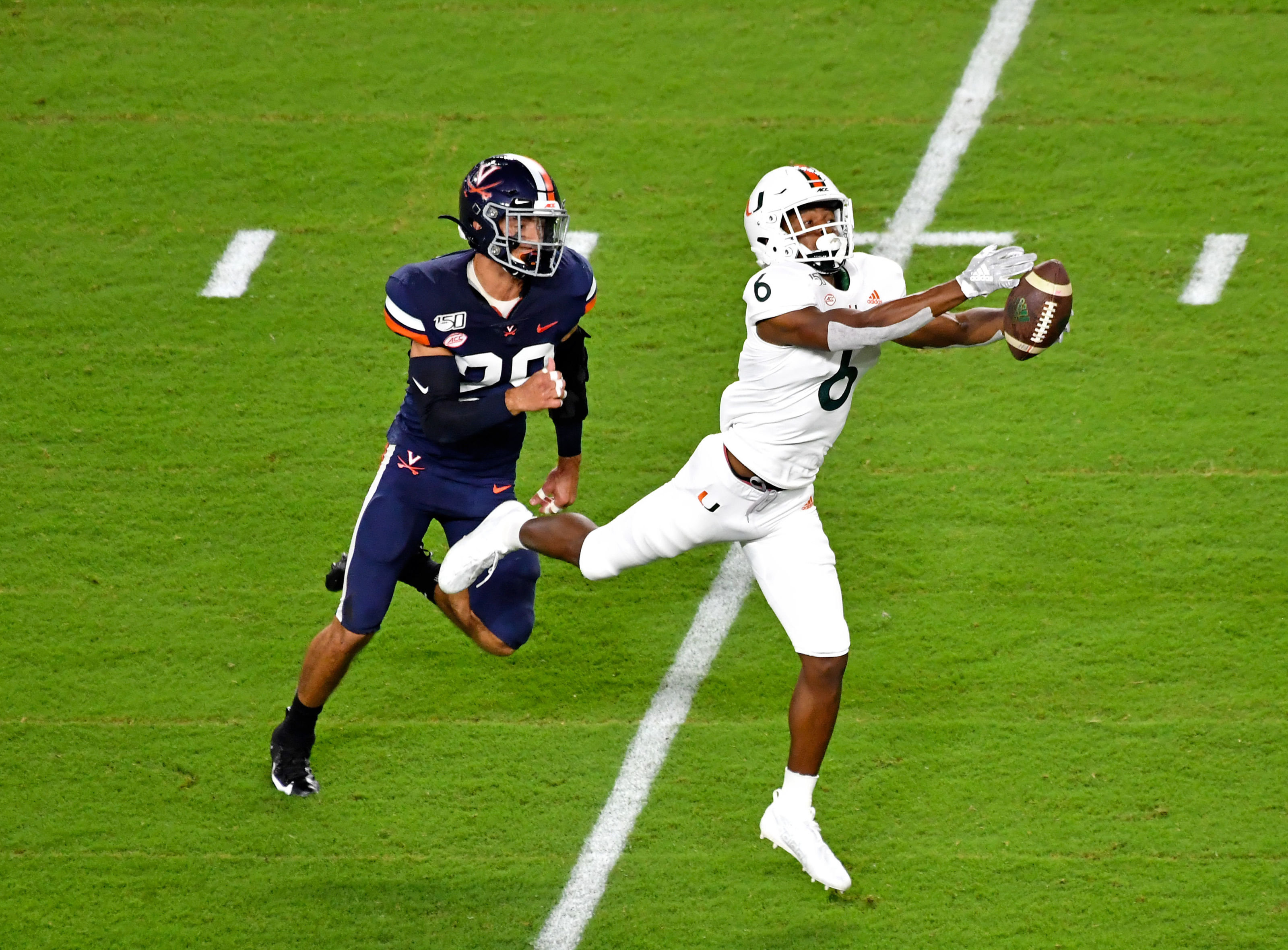 Virginia At Miami Football Game Six And Broadcast Information